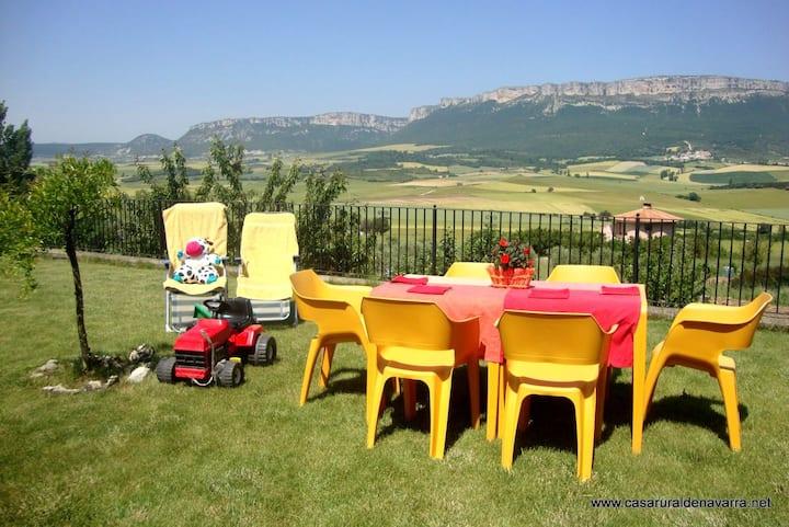 Casa rural  en Navarra: Belástegui crv 0887