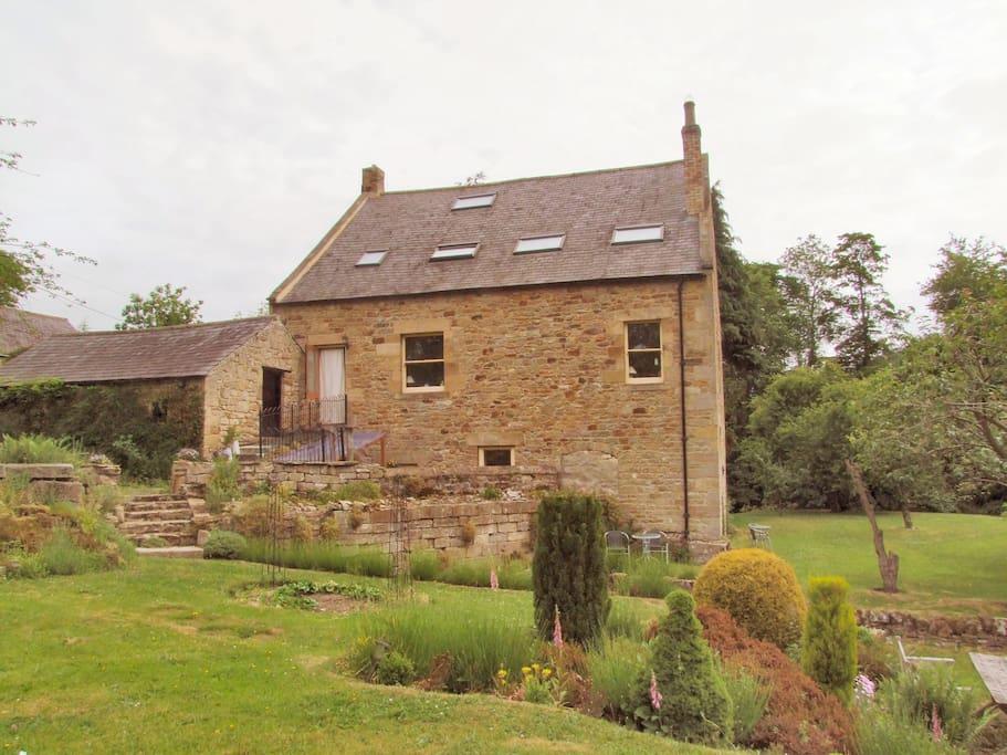 Dilston mill private suite pernottamento e colazione in for Garden rooms dilston