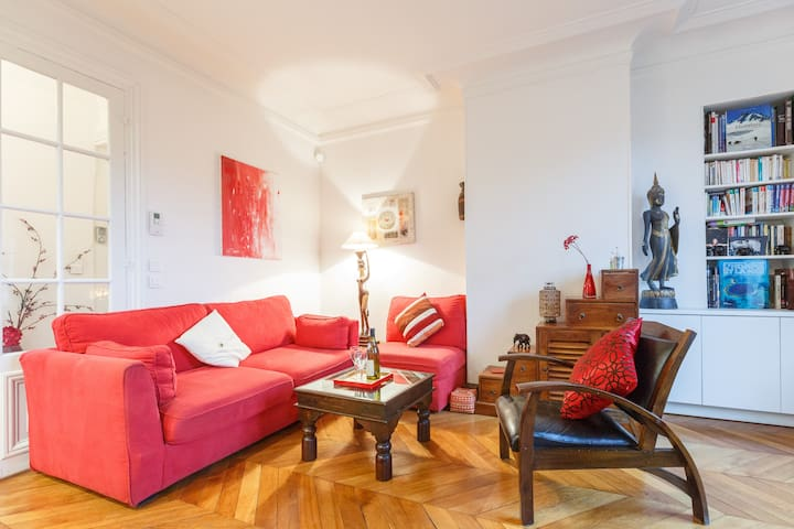 Beautiful flat and garden view ! - Paris 8è - Apartamento