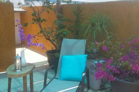 Apt 5 Casa Tranquila 5 min walk to sea & downtown - Cozumel - Apartment