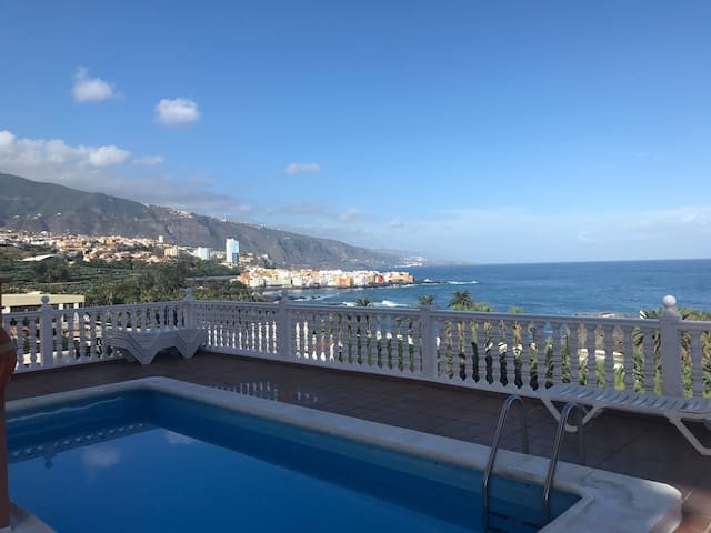 Puerto de la Cruz, 3 beds, pool, beach