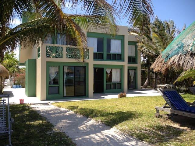 Casa de Suenos beachfront south - Xcalak - Apartment