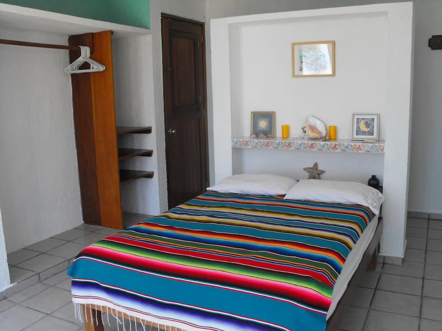 Beachfront south at Casa de Suenos, one bedroom, one bath.