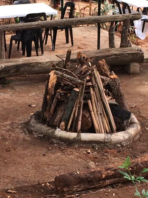 Bonfire, one of 5 bonfire areas @ SAP