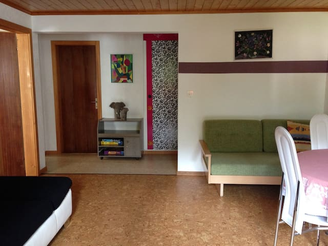Large 1-bedroom Apt with mountain view