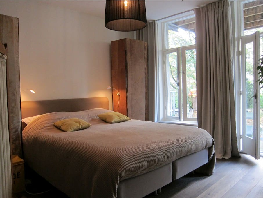 Boutique b b in de pijp museumquarter chambres d 39 h tes for Chambre d hotes amsterdam