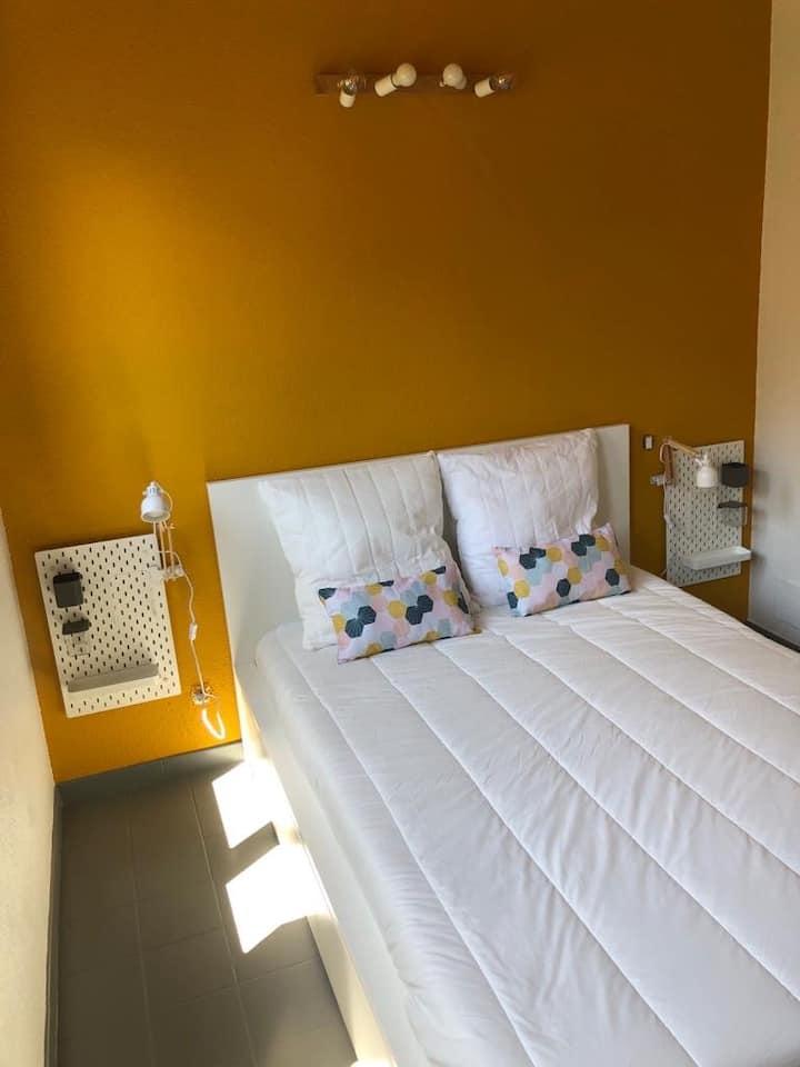 Appartement climatisé 6 pers + terrasse à Moliets