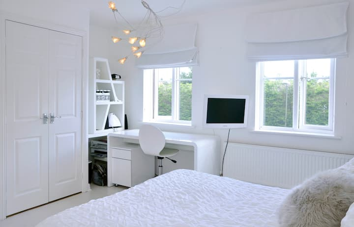 Ensuite Double in Modern House