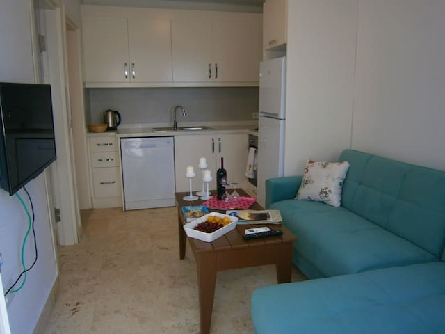One Bedroom Apartment in Central Bodrum 6