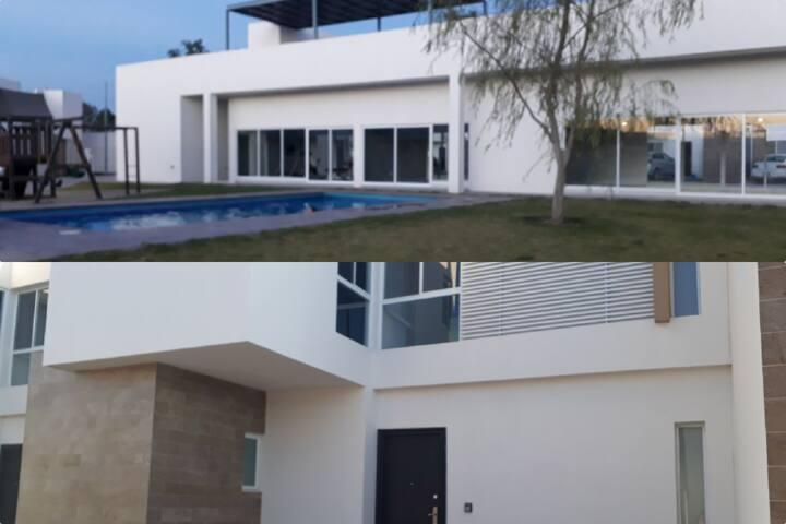 Casa en Privada con Alberca Zona Industrial SLP