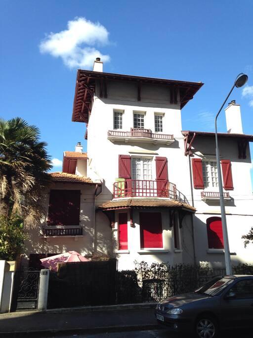 Maison typique basque
