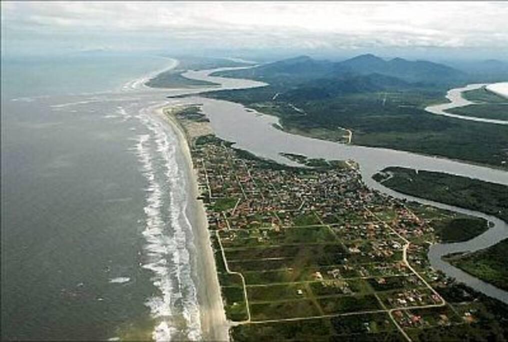 Barra do Ribeira- Praia da Juréia
