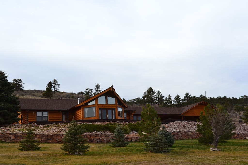 Mountainside retreat in colorado cabins for rent in for Loveland co cabin rentals