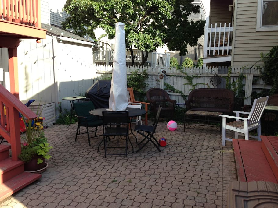 Outdoor patio in back yard is also available during your visit.