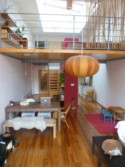 Overview of the loft
