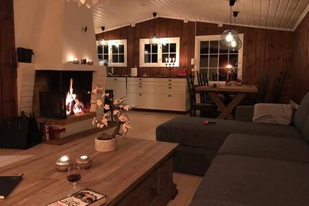 Newly renovated cabin at Sjusjøen