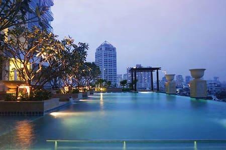 46th Skybar floor / studio 46 USD / check out 1pm - Bangkok - Apartamento