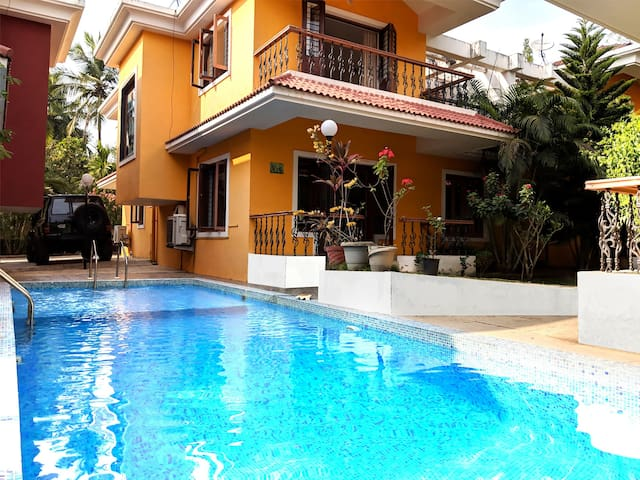 Villa Exotica 3 BHK Villa with Pool Vagator