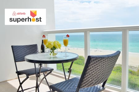 Stunning Beachfront in Miami Beach + free parking