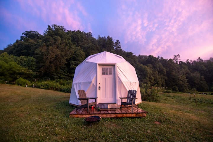 Smoky Mountains Glamping Dome #2  (Read Details)