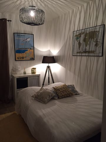 Chambre au calme à 4 km de l'océan - Ahetze - Apartamento
