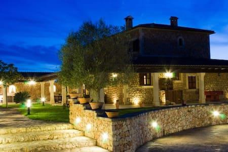 Villa con piscina y barbacoa - Petra