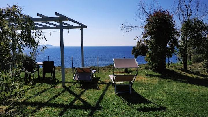 Belvedere a 3 minuti dalla spiaggia + ebike-free