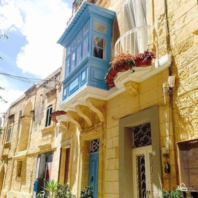 Original Maltese balcony.