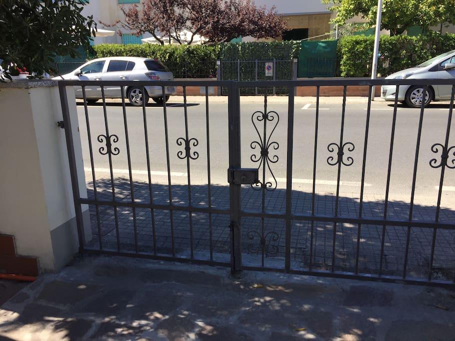Cancello di entrata