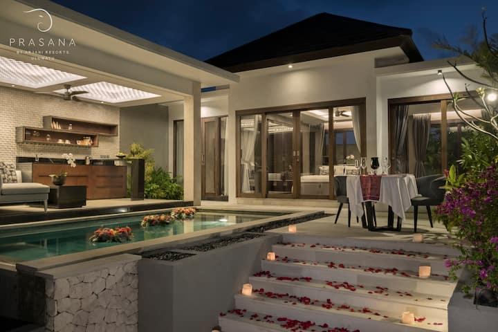 Luxury 1 BR Pool Villa, Uluwatu, Stunning Sunrise