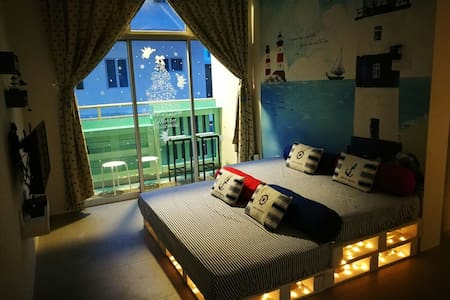 Blue Romance Thematic Homestay @ Cameron Highlands - Brinchang - Apartment
