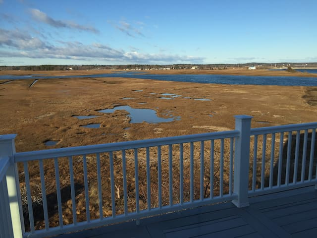 New 3bed home, incredible marsh view 2min to beach - Salisbury - Vacation home
