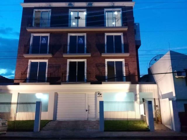 Apartamento 1 quarto, novo, centro de Cruz Alta/RS