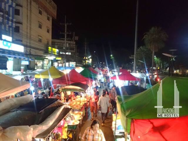 🚂Khaoyai, Private Bunk bed🛺Pakchong night market