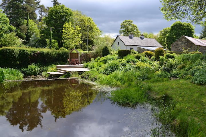 Traditional riverside cottage near Ballinamore