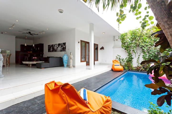 Villa charming 2 bedrooms in seminyak