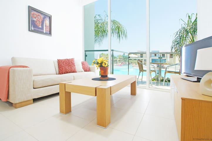 DIANA - Coralli Spa Protaras, pool view apartment