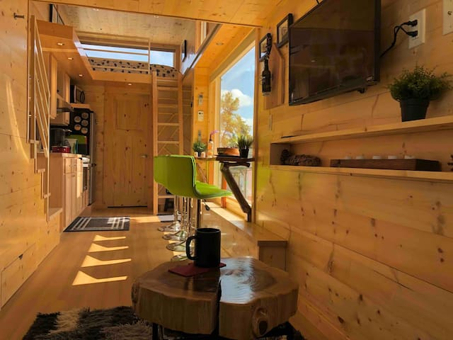 Twin Rivers Tiny House (A Latvian Retreat)