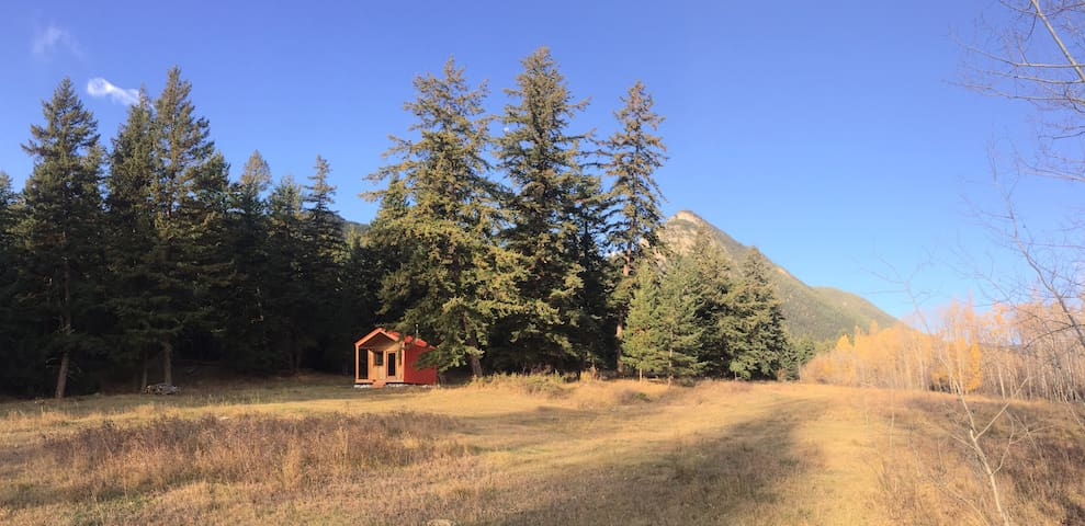 The 'Om Hut' at Blue Earth Dream Services (BEDS)