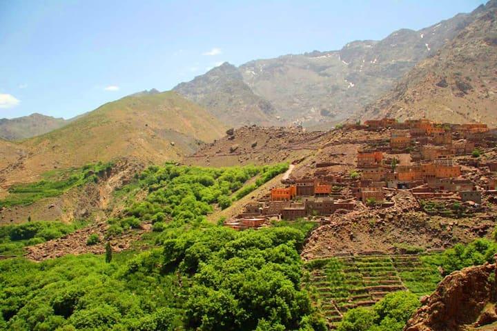 Berber Home stay in local  Berber village