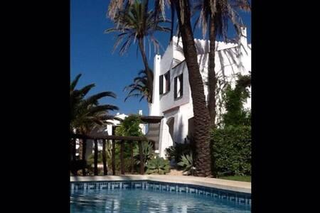 Casa en Fornells, 3 hab, 2 baños, 2 piscinas - Playas de Fornells