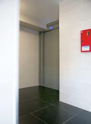 Ascenseur de la résidence