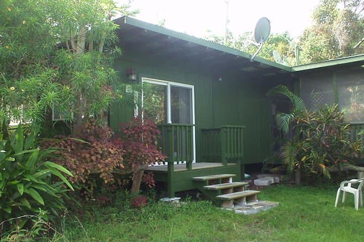 SuGar Cottage in Papa Bay. Free Scuba Diving!