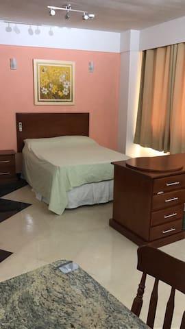 Exelente flat em ótima localização - Barueri