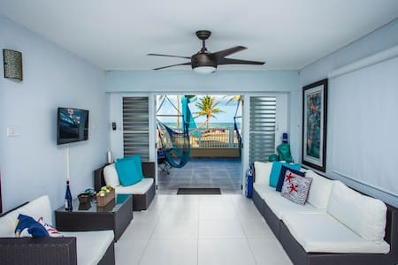 Astonishing Beachfront Apartment @ La Pared Beach
