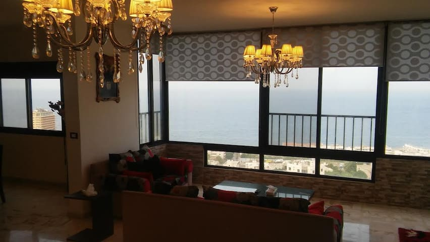 Luxury full Sea view condo near Jounieh in Safra - Jounieh - Flat