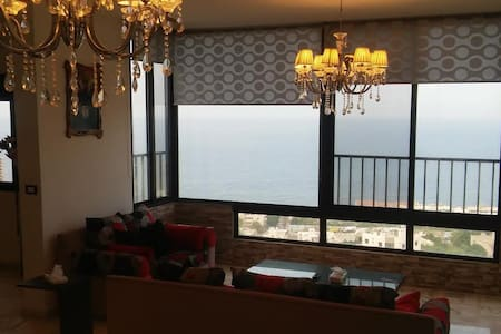 Luxury full Sea view condo near Jounieh in Safra - Jounieh - Huoneisto