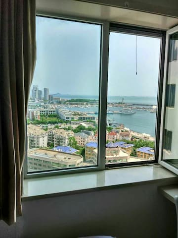sea view  subway Private Bathroom @the city center - Qingdao - Apartamento