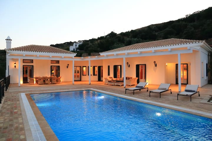 Amazing villa,private tennis court - Andros - Villa
