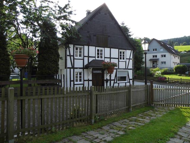 Ruim vakantiehuis Am Bach, vlakbij Willingen